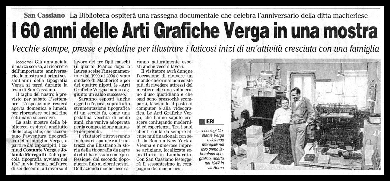 Giornale di Carate - 21 Agosto 2007
